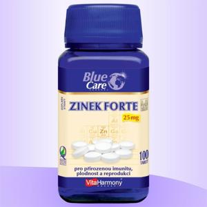 VitaHarmony Zinek Forte tbl.100x25mg - II. jakost