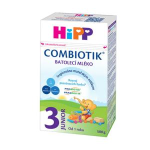 HiPP MLÉKO HiPP 3 JUNIOR Combiotik 500g - II. jakost