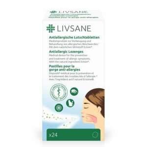 LIVSANE Pastilky proti alergiím 24ks