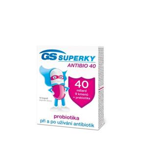 GS Superky Antibio 40 cps.10 ČR/SK - II. jakost