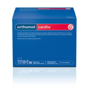 Orthomol Cardio 30 denních dávek - II. jakost
