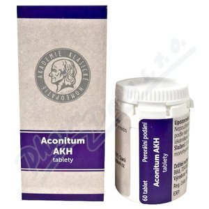 ACONITUM AKH neobalené tablety 60 I