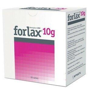 FORLAX 10G perorální PLV SOL SCC 20