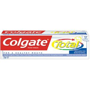 Colgate Zubní pasta Total Whitening 75ml - II. jakost