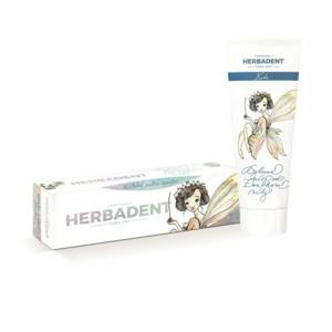 HERBADENT KIDS bylinná zubní pasta s fluoridem 75g - II. jakost