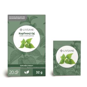 LIVSANE Čaj kopřivový 20 sáčků