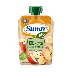 Sunar BIO kapsička Jablko banán 100g C-207