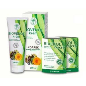 Biovenol krém 200ml + dárek Bivenol micro tbl.20 - II. jakost