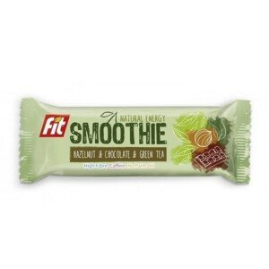FIT SMOOTHIE tyč. lísk.ořechy+čoko+zelený čaj 32g