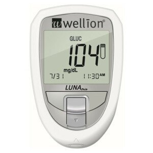 Wellion LUNA TRIO set glukomet bílý