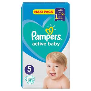 PAMPERS Active Baby VPP 5 Junior 51ks