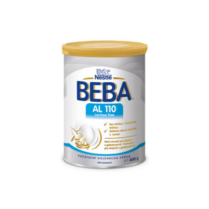 BEBA AL 110 Lactose Free 400g new - II. jakost