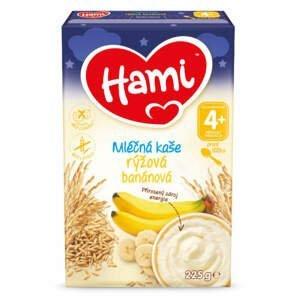 Hami mléčná kaše rýžová banánová DN 225g 4M