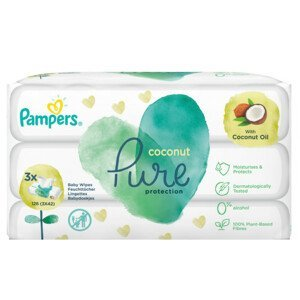 Pampers ubrousky Pure Coconut 3x42ks