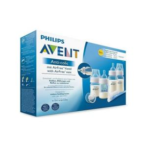 AVENT Start.sada Anti-colic 4lah+kart+šidít+ventil - II. jakost