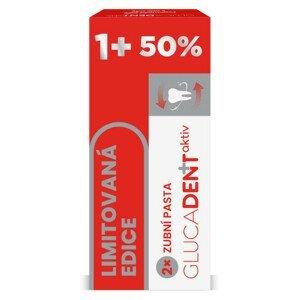 Glucadent aktiv zubní pasta 2ks - II. jakost