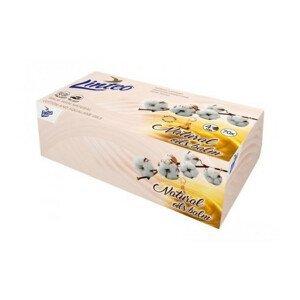 Papírové kapes.LINTEO 4 vrstvé 70ks BOX balz+olej