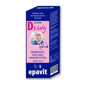 EPAvit Vitamin D3 baby kapky 30ml