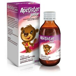 APETISTER JUNIOR sirup 100 ml