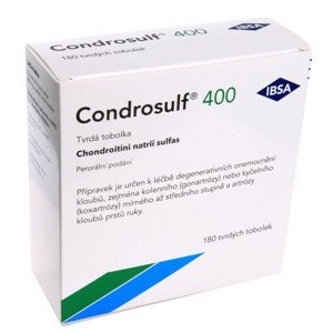 CONDROSULF 400MG tvrdé tobolky 180(3X60) - balení 2 ks