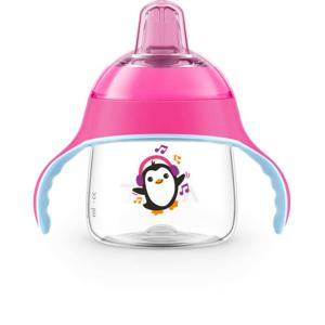 AVENT Hrnek pro 1.doušky Premium 200ml růžový - II. jakost