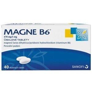 MAGNE B6 470MG/5MG obalené tablety 40