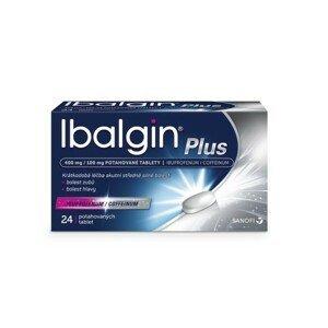 IBALGIN PLUS 400MG/100MG potahované tablety 24