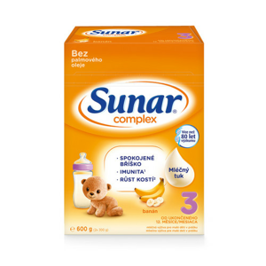Sunar Complex 3 banán 600g - nový - II. jakost