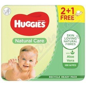 HUGGIES Natural Care Triplo 3x56ks