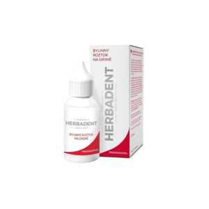 HERBADENT PROFESSIONAL bylin.roztok na dásně 25ml - II. jakost