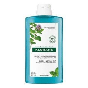 KLORANE Šampon detoxikační a BIO máta vodní 400ml