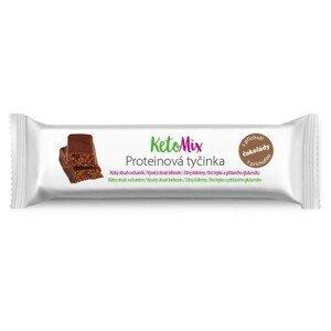 KetoMix Proteinová tyčinka čokoláda 40g