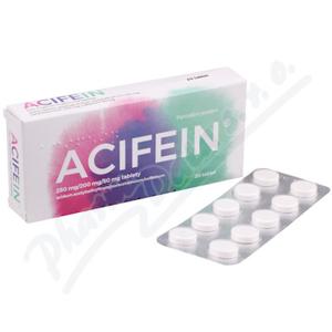 ACIFEIN 250MG/200MG/50MG neobalené tablety 20