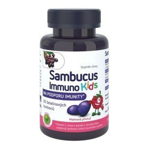 Sambucus Immuno kids želatinové bonbony 60 kusů