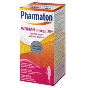 Pharmaton WOMAN Energy 30+ tbl.30 - balení 2 ks