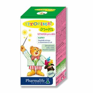 Pharmalife D3+K2 vitamin pro děti 30ml - II. jakost