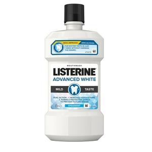 LISTERINE ADVANCED WHITE Mild Taste 500ml - II. jakost