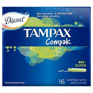 DH tampóny Tampax Compak Economy Super 16ks - II. jakost