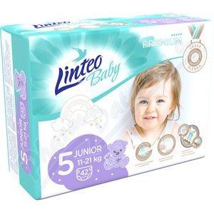 Dětské pl.LINTEO BABY PREMIUM JUNIOR 11-21kg 42ks