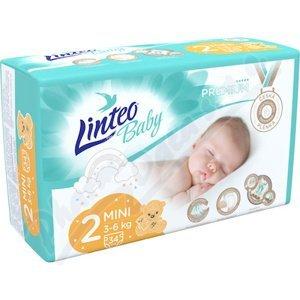 Dětské plenky LINTEO BABY PREMIUM MINI 3-6kg 34ks