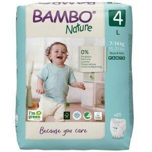 Bambo Nature Pants 4 navl.pl.k.trenink.7-14kg 20ks
