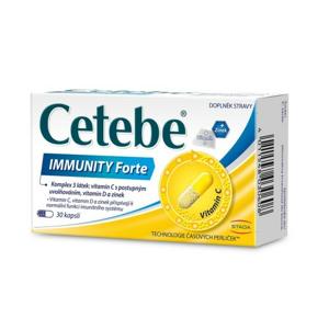 Cetebe IMMUNITY Forte cps.30 - II. jakost