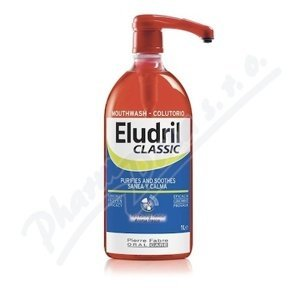 ELUDRIL CLASSIC ústní voda 1l