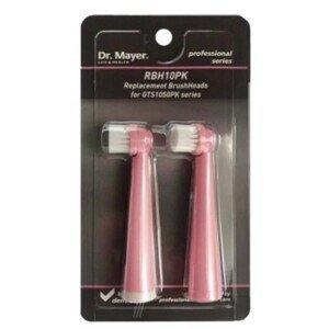 Dr.Mayer RHB10PK Náhradní hlavice pro zubní kartáček GTS1050 růžová 2ks