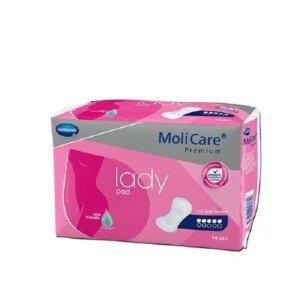 MOLICARE LADY absorbční vložky 5 kapek 1029 ml, 14ks