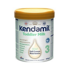 Kendamil kojenecké batolecí mléko 3 DHA+ 800g - balení 3 ks