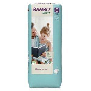 Bambo Nature 6 děts.plenkové kalhotky 16+ kg 40ks - II. jakost