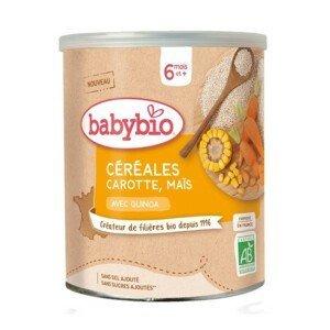 BABYBIO nemléčná rýžovoquinoová kaše mrkev kukuřice 220g