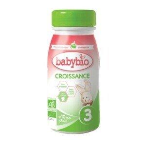 BABYBIO Croissance 3 pokračovací mléčná výživa 250ml