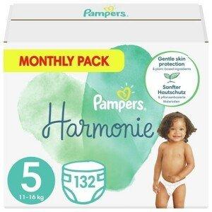 Pampers Harmonie 5 Plenky 11-16 kg 132 ks